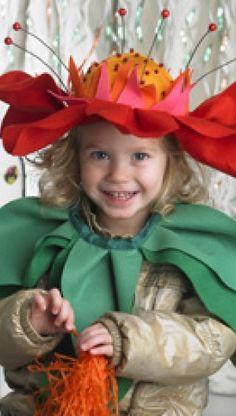 Udklædning til fastelavn: Den sødeste blomst | Familie Journal Festivals, Child, Inspiration, Style, Fashion, Biblical Inspiration, Swag, Moda, Children