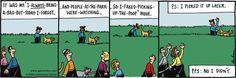 Watch your step, Henry. Karma... |  Read Overboard #comics @ http://www.gocomics.com/overboard/2015/03/18?utm_source=pinterest&utm_medium=socialmarketing&utm_campaign=social-pin | #GoComics #webcomic