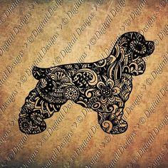 Coloriage De Chien Cocker Anglais.44 Meilleures Images Du Tableau Cocker Doggies Dogs Et Puppys
