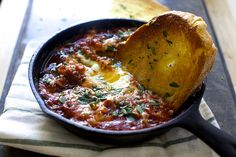 eggs in purgatory, puttanesca-style | smitten kitchen