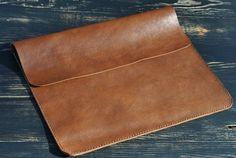 "New Macbook 12""/ Macbook Air 11 inch Case / Macbook Air 13 inch leather Case Organiser IPad leather case Portfolio Case Folder for documents"