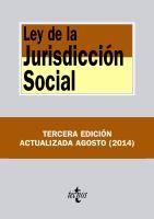 Ley de la jurisdicción social / edición preparada por Alfredo Montoya Melgar y Bartolomé Ríos Salmerón