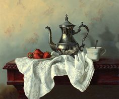 25 Hyper Realistic Still Life Oil Paintings by Alexei Antonov - By Old Masters Technique. Follow us www.pinterest.com/webneel