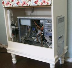 Chest of Drawers Hides Ugly CPU