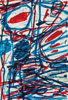 Jean Dubuffet (1901-1985) Mire G 156