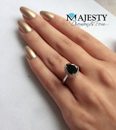 A lifelong commitment calls for a touch of timeless elegance. Black Diamond Wedding Rings, Black Diamond Necklace, Colored Diamond Rings, Colored Diamonds, Black Diamonds, Jewelry Shop, Gold Jewelry, Fine Jewelry, Diamond Jewellery
