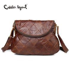 Cobbler Legend Brand Designer 2017 New Women's Crossbody Bag Female Handbags Vintage Shoulder Bags Ladies Genuine Leather Bag