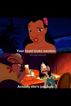 Funny Disney Quotes Hilarious Lilo And Stitch 55 Super Ideas Disney Pixar, Walt Disney, Disney Memes, Disney Quotes, Disney And Dreamworks, Disney Animation, Disney Love, Disney Magic, Disney Stuff