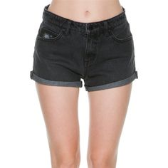 Shorts Nwt Tinseltown Shortie Distressed Frayed Hem High Waist Embroidered Black Shorts For Improving Blood Circulation Clothing, Shoes & Accessories