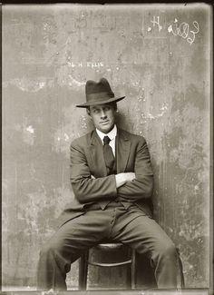 Vintage Mugshots Of 1920s
