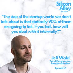 Entrepreneurs are optimistic by nature yet most startups fail. Jeff understands this first hand and struggled when his venture failed. It put him into a depressive episode. How will you respond to failure? #failure #mindset #fail #fridayfails #mentalhealth #selflove #mindfulness #health #selfcare #depression #recovery #mentalhealthawareness #mentalhealthmatters #wellbeing #quotes #startup #startupfailure #founders How To Raise Money, How To Become, Personal Finance App, Depression Recovery, Insightful Quotes, We Dont Talk, Mental Health Matters, Financial Goals, Starting A Business