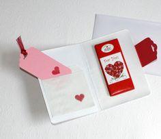 AugusTino - Geschenkkarte mit Schoko von FrlBetty  auf DaWanda.com