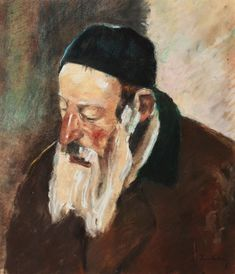 Ştefan Luchian, The Rabbi of Moinești - Autumn Art Sale - 100 Greatest Masters of Romanian Art - Arhivă rezultate Autumn Art, Art For Sale, Rabbi, Masters, Artist, Painting, Pocket, Master's Degree, Painting Art
