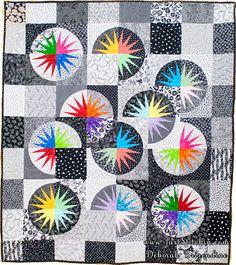 Desert Sky Just Stitchin - Judy Niemeyer Quilts