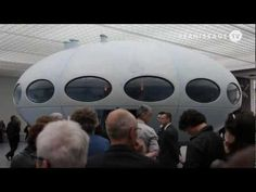 Futuro. House of the Future: Introduction to a design icon of the 1960´s, the Futuro house designed by Finnish architect Matti Suuronen.
