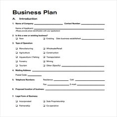 149 best business plan images on pinterest in 2018 business printable business plan printable business plan template free business template sample business plan 6 documents in word excel pdf internet business plans cheaphphosting