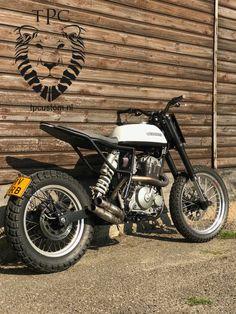 Ktm 525 Exc, Ktm Exc, Tracker Motorcycle, Retro Motorcycle, Xt 600 Scrambler, Harley Street, Honda Dominator, Ktm Dirt Bikes, Velo Vintage