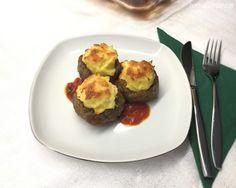 Hasan Paşa Köftesi – Bereketli Sofralar Baked Potato, Sprouts, Muffin, Food And Drink, Potatoes, Eggs, Baking, Vegetables, Breakfast