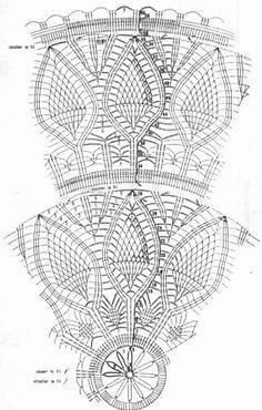 Crochet Tablecloth - The Pine Cones