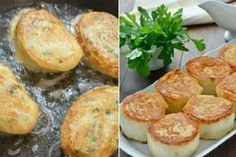 Hot rolls of pita with potatoes and mushrooms: a snack that is praised more than meat! Top Salad Recipe, Salad Recipes, Snack Recipes, Cooking Recipes, Snacks, New Recipes, Favorite Recipes, Albondigas, Russian Recipes