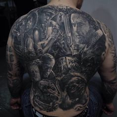 Awesome tattoo TWD