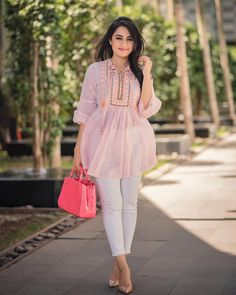 Summer hues in I could barely keep my eyes open here . (Tap for outfit details) Location - Photo - Hair & makeup - Pakistani Fashion Casual, Pakistani Dresses Casual, Pakistani Dress Design, Frock Fashion, Fashion Wear, Fashion Dresses, Ritu Kumar, Stylish Dresses, Trendy Outfits