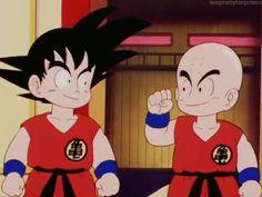 Dragon Ball - Goku & Krillin