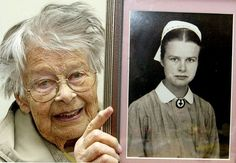 Erna Flegel (11 July 1911 – 16 February 2006) was a German nurse. From January 1943 until the end of World War II, Flegel served in that capacity for Hitler's entourage and during the Battle of Berlin. She is believed to have been in Hitler's bunker when he committed suicide.