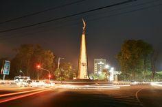 Tugu Kujang Malam Hari - Tugu Kujang at Night Bogor, Semarang, Cn Tower, Public, Vacation, Night, Building, Places, Travel