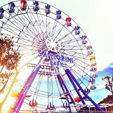 The Santorini Park is one of the newest amusement parks within Cha-Am and western Thailand . Thailand Vacation, Santorini, Amusement Parks, Travel, Posts, Places, Viajes, Messages, Lugares