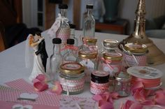 Lots of people like to make their own wedding favours so I have been helping LoveJars to source the right kind of   mini jars and bottles  which are ideal for this - at their usual modest...