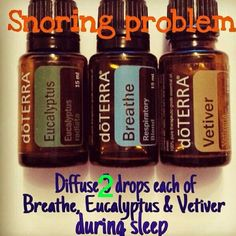 Does you or a loved one have a snoring problem? Diffuse this and/or add the…