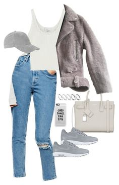 """""""Untitled #758"""" by dearestdana ❤ liked on Polyvore featuring ASOS, 3.1 Phillip Lim, Topshop, Yves Saint Laurent, NIKE, Acne Studios and Casetify"""