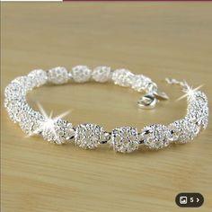 Brand new sterling silver bracelet.  Boutique Jewelry Bracelets