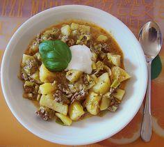 Lauch - Hackfleischpfanne, ein gutes Rezept aus der Kategorie Gemüse. Bewertungen: 47. Durchschnitt: Ø 4,1.