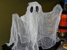 DIY Fantasma - Cheesecloth Ghost - Decoracion para Halloween- NuestraCas...