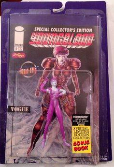 Special Collectors Image Comic Edition Youngblood Vogue Action Figure NEW NIP #JusToys