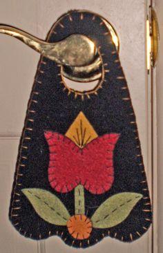 Door Hanger - Spring Tulip