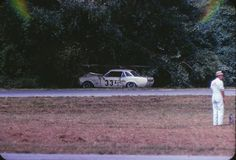 1967 Marlboro Trans Am - John McComb's Shelby Mustang's race is done