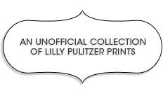 The Pelican Girls are inspired by all the pretty Pulitzer prints!