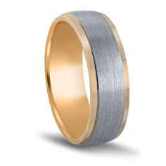 Men's Two-Tone Wedding Ring