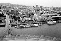 Communist Architecture Collection in Europe's Dead Centre - Bratislava Heart Of Europe, Danube River, Suspension Bridge, Bratislava, Capital City, Prague, First World, Worlds Largest, Paris Skyline