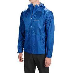 Marmot Mica MemBrain® Strata Jacket - Waterproof (For Men) in Blue Night - Closeouts