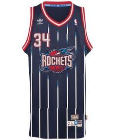 240bf06555d adidas Men s Hakeem Olajuwon Houston Rockets Retired Player Swingman Jersey    Reviews - Sports Fan Shop By Lids - Men - Macy s