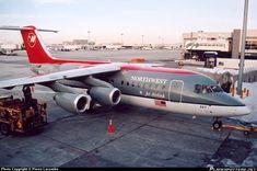 N527XJ Mesaba Airlines British Aerospace Avro RJ85