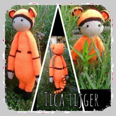 Tica tijger, gemaakt door  Patricia Wijnands Ruks