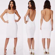 #dress #backless #womenfashion #popular #sexy