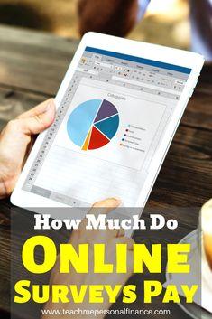 Online Surveys For Money - How Much Do Online Surveys Pay? Online Surveys For Money, Online Jobs, Paid Surveys, Mobile App, Survey Money, Amigurumi For Beginners, Apps, Online Programs, Finance