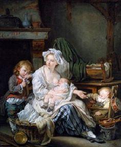 Silencio Óleo sobre lienzo Autor: Jean Baptiste Greuze (1725–1805) Fecha: 1759 Ubicación: Palacio de Buckingham, Londres, Inglaterra