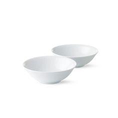 Royal Copenhagen White Fluted Bowl 35 cl 2-pack